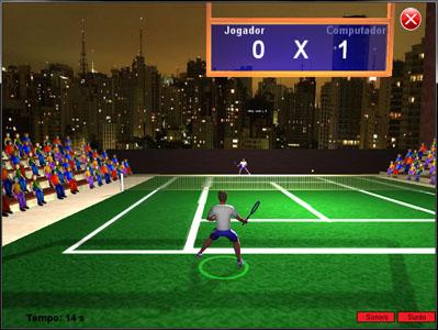 Jogo de ténis