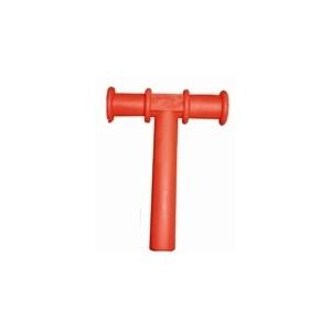 Dispositivo Motor Orofacial Chewy Tube Vermelho